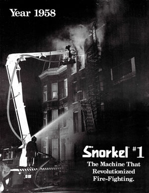Snorkel #1 - The machine that revolutionized fire-fighting